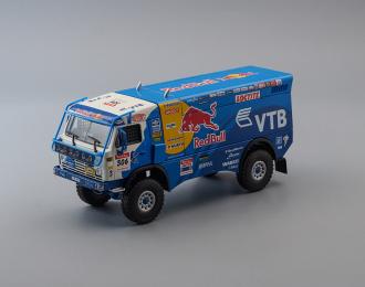 "Камский грузовик 4326 команда ""Камский грузовик Мастер"" #506 Race Truck Argentina-Chile (2009), blue / white"