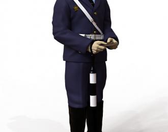 Сборная модель Фигура Инспектор ГАИ №2