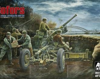 Сборная модель Зенитное орудие BOFORS 40mm Automatic Gun M1