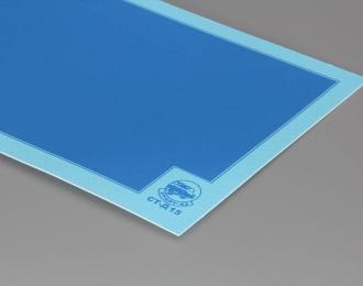 Декаль Цветовое поле (синий), 80х170 мм.