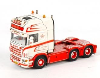SCANIA R Topline Single truck, Premium Line 1:50, белый