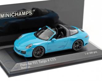 PORSCHE 911 (991.2) TARGA 4GTS - 2017 - BLUE