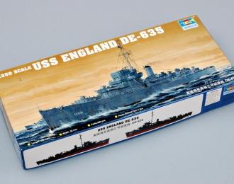 Сборная модель Американский эсминец USS ENGLAND DE-635