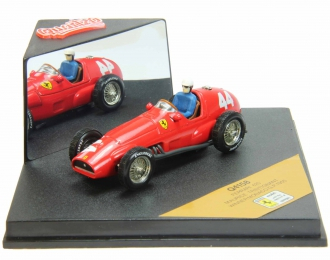 FERRARI 625 #44 Maurice Trintignant Winner Monaco G.P. (1955), red