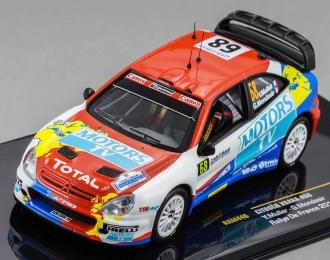 CITROEN Xsara WRC 68 Rally de France (Yvan Muller - Gilles Mondesir) 2010, red