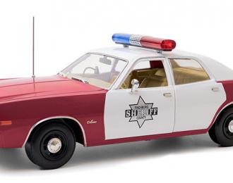 "DODGE Monaco ""Finchburg County Sheriff"" 1977 Red"