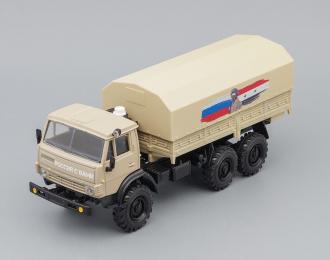 Камский грузовик 4310 с тентом Лимитированная серия, песочный