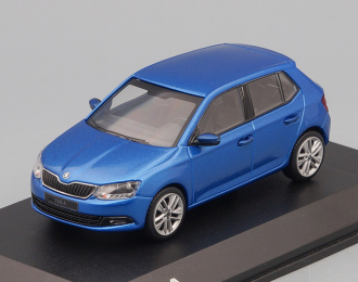 SKODA New Fabia, race blue