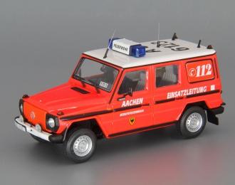 (Уценка!) MERCEDES-BENZ 230 GE Berufsfeuerwehr Aachen, red / white