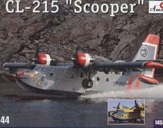 """Сборная модель Канадский пожарный самолет-амфибия Canadair Cl-215 """"Scooper"""""""