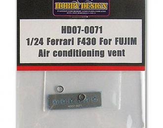Набор для доработки Ferrari F430 для моделей Fujim Air conditioning vent(Metal+PE)