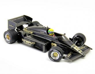 "LOTUS RENAULT 97T ""JPS"" #12 Ayrton Senna GP Portugal 1985"
