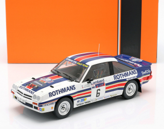 "OPEL Manta 400 #6 ""Rothmans"" Vatanen/Harryman RAC Rally 1983"