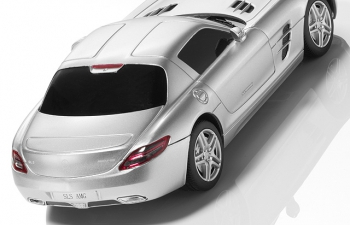 MERCEDES-BENZ SLS AMG Coupe C 197, silver