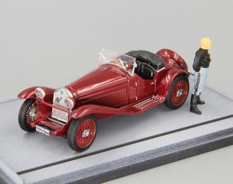 ALFA ROMEO 1750 Benito Mussolini Camicia Nera (1930), dark red