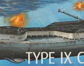 Сборная модель Немецкая подводная лодка Тип IX C/40 (U190)