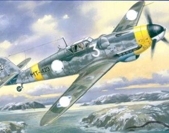 Сборная модель Мессершмитт Bf-109 G-6