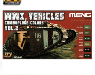 WWI Vehicles Camouflage Colors Vol.2