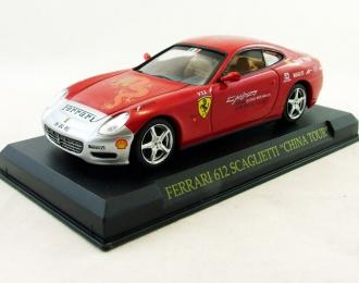FERRARI 612 Scaglietti China Tour (2005), Ferrari Collection 58, red