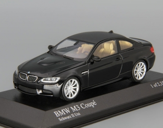 BMW M3 Coupe (2008), black