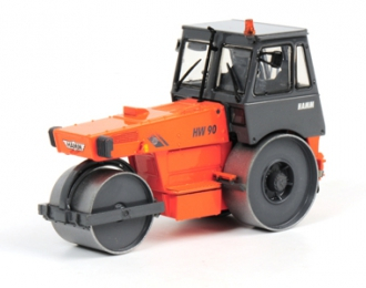 HAMM HW 90 Single truck, Premium Line 1:50, оранжевый с серым