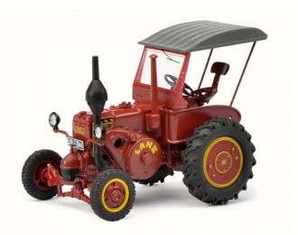 Lanz Bulldog D9506 with roof, dark red