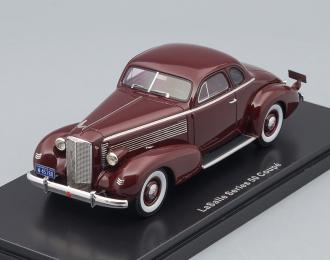 La SALLE Series 50 Coupe (1937), dark red