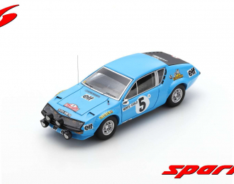 Alpine A310 #5 Monte Carlo Rally 1975 Jean-Luc Thérier - Michel Vial