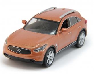 INFINITI FX, Суперкары 39, orange