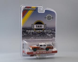 """FORD LTD Crown Victoria Wagon """"Tijuana Centro Mexico Taxi"""" 1988 (Greenlight!)"""