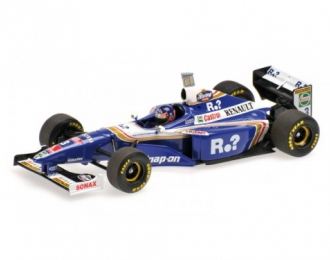 WILLIAMS RENAULT FW19 - JACQUES VILLENEUVE - WORLD CHAMPION 1997 - HIGH COVER