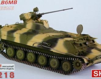 Сборная модель Российский артиллерийский тягач МТ-ЛБ 6МБ