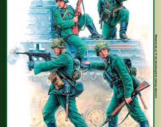 Сборная модель Немецкие панцергренадёры, пехота