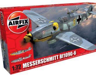 Сборная модель Самолет Messerschmitt Bf-109 G-6