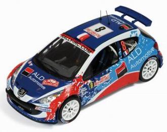 PEUGEOT 207 S2000 8 Rally Monte Carlo (D.Auriol - Diraudet) 2009, цветной