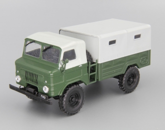 Горький 62 3-й серии, Автолегенды СССР 109, хаки