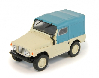 (Уценка!) МОСКВИЧ 415, Автолегенды СССР 112, бело-голубой