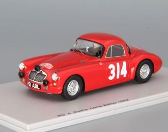 MG A Monte Carlo Rallye (1962), red