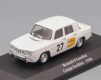 RENAULT 8 Gordini Coupe Gordini #27 1968