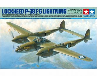 Сборная модель LOCKHEED P-38 F/G с фигурой пилота