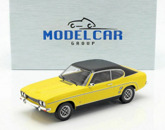 FORD Capri 2000 GXL Mк.1 1973 Yellow / Black
