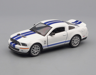 SHELBY GT500 (2007), white