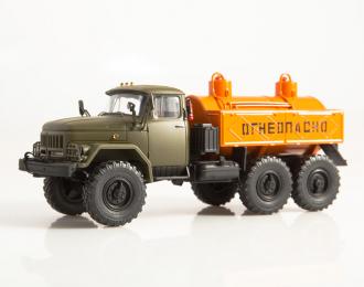 Маслозаправщик МА-4А (131), хаки / оранжевый