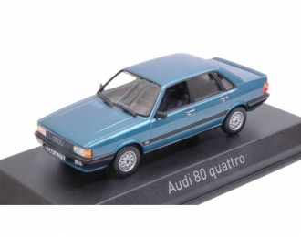 AUDI 80 Quattro 1985 Blue Metallic