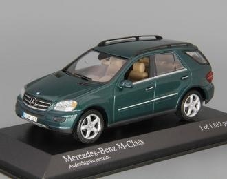 MERCEDES-BENZ M-Class W164 (2005), green metallic