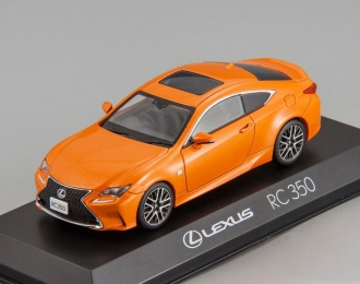 LEXUS RC350 F Sport, orange