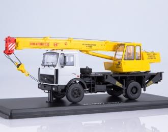 """Автокран КС-3577 (5337) """"Ивановец"""", серый / желтый"""