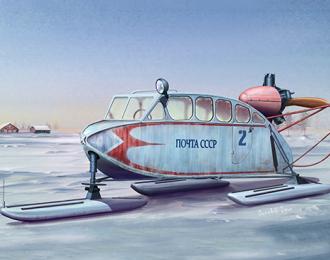 Сборная модель Soviet NKL-6 Aerosan