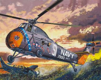 Сборная модель American H-34 Helicopter – Navy Rescue