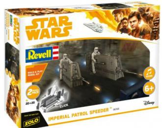 Сборная модель Звездные Войны Han Solo Item B Star Wars Imperial Patrol Speeder